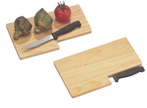 03079 tagliere in legno con coltello accessori cucina for Oggettistica cucina online